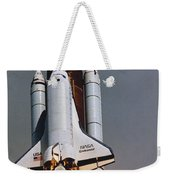 Shuttle Lift-off Weekender Tote Bag by Science Source