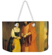 Shylock And Jessica From 'the Merchant Of Venice' Weekender Tote Bag