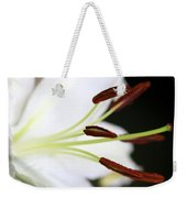 Side View Lily Weekender Tote Bag