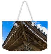 Side View On A Teahouse In Japan Weekender Tote Bag