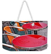 Sidewalk Cafe In Paris Weekender Tote Bag