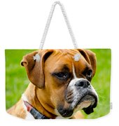 Sidney The Boxer Weekender Tote Bag