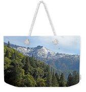Sierra First Snow Weekender Tote Bag