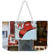 Sign - Fire Chief Gasoline Weekender Tote Bag