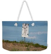 Sign At The Gulf Of Bothnia Weekender Tote Bag