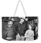 Silent Film: Cowboys Weekender Tote Bag