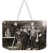 Silent Film Set, C1925 Weekender Tote Bag
