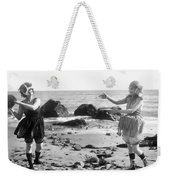 Silent Film Still: Beach Weekender Tote Bag