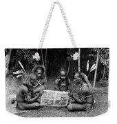 Silent Film Still: Natives Weekender Tote Bag