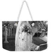 Silent Film: Wedding Weekender Tote Bag
