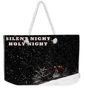 Silent Night Card Weekender Tote Bag