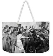 Silent Still: Army & Navy Weekender Tote Bag by Granger