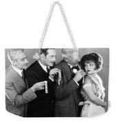 Silent Still: Bribery Weekender Tote Bag
