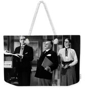 Silent Still: Offices Weekender Tote Bag