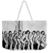 Silent Still: Showgirls Weekender Tote Bag