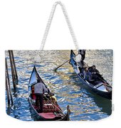 Silently Drifting Gondolas Weekender Tote Bag
