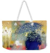 Silhouette In The Rain Weekender Tote Bag