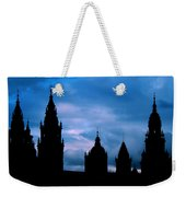 Silhouette Of Spanish Church Weekender Tote Bag