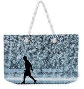 Silhouette Over Water Weekender Tote Bag