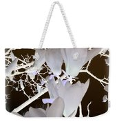 Silhouetted Blossoms Weekender Tote Bag