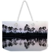 Silhouetted Trees Weekender Tote Bag