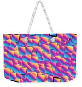 Silicon Wafer Weekender Tote Bag