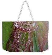 Silk And Pearls Weekender Tote Bag