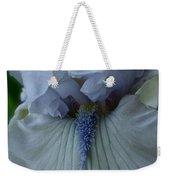 Silky Iris Weekender Tote Bag