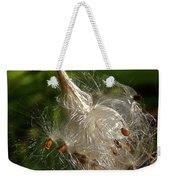 Silky Milkweed Weekender Tote Bag