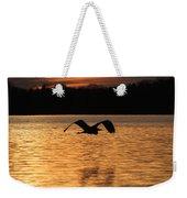 Silouette On The Lake Weekender Tote Bag