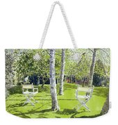 Silver Birches Weekender Tote Bag by Lucy Willis