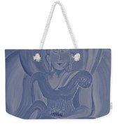 Silver Buddha Weekender Tote Bag
