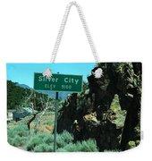 Silver City Nevada Weekender Tote Bag