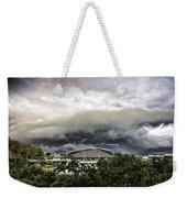 Silver Clouds V2 Weekender Tote Bag