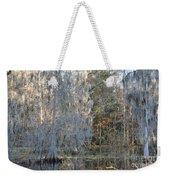 Silver Cypress Weekender Tote Bag