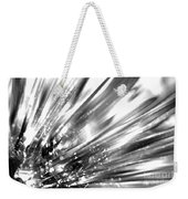 Silver Explosion Weekender Tote Bag