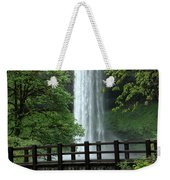 Silver Falls 2 In Oregon Weekender Tote Bag