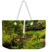 Silver Falls Bridge Weekender Tote Bag