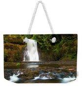 Silver Falls Waterfall Weekender Tote Bag