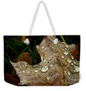 Silver Maple Rain Weekender Tote Bag
