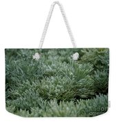 Silver Mound Dew Drenched Weekender Tote Bag