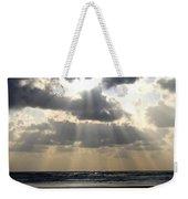Silver Rays Weekender Tote Bag