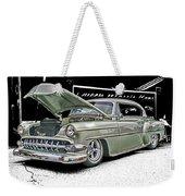 Silver Street Rod Hdr Weekender Tote Bag