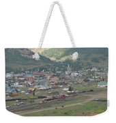 Silverton Colorado Painterly Weekender Tote Bag