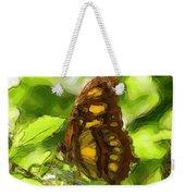 Simple Butterfly Weekender Tote Bag