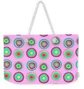 Simple Spots Weekender Tote Bag by Louisa Knight