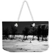 Simple Trees Weekender Tote Bag by Empty Wall