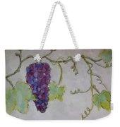 Simply Grape Weekender Tote Bag