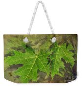 Simply Summer Maple Leaves Weekender Tote Bag
