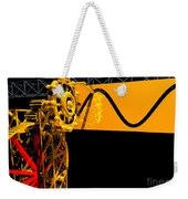 Sine Wave Machine Landscape 2 Weekender Tote Bag